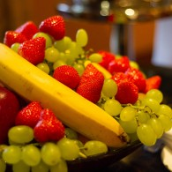 Fresh fruit provided in The Cashmere Suite