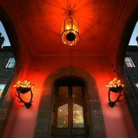 Stobo Castle Entrance