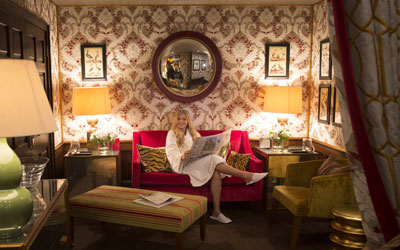 Stobo Castle Ladies Restroom