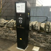 Rolec Electric Vehicle Charging Station at Stobo Castle Health Spa