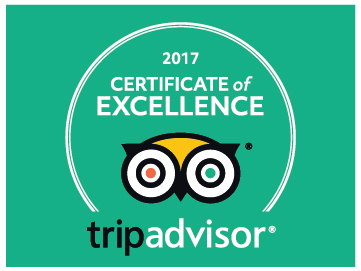 Tripadvisor certificate of excellence in green